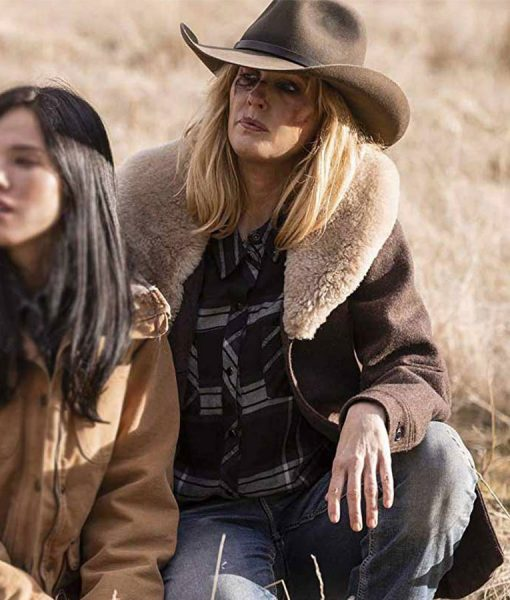 kelly-reilly-yellowstone-coat