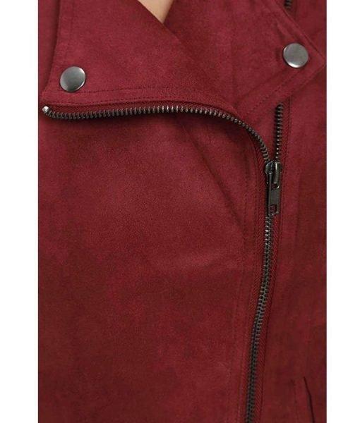 arrow-thea-queen-red-suede-jacket