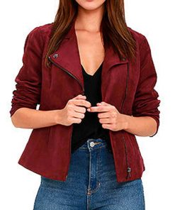 arrow-willa-holland-red-suede-jacket