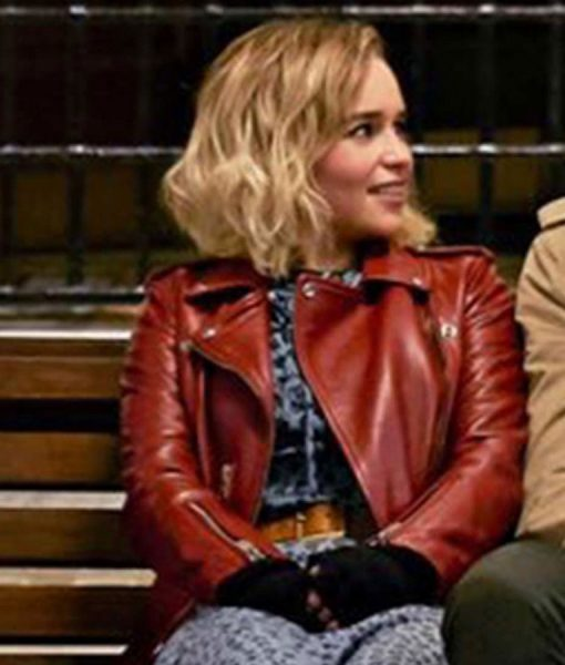 last-christmas-emilia-clarke-leather-jacket