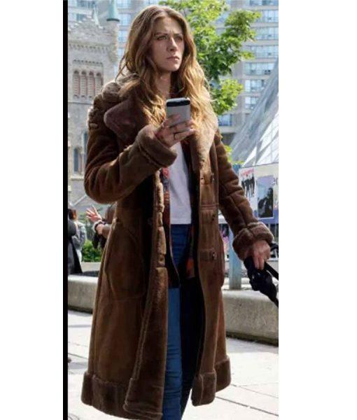 perry-mattfeld-in-the-dark-shearling-coat