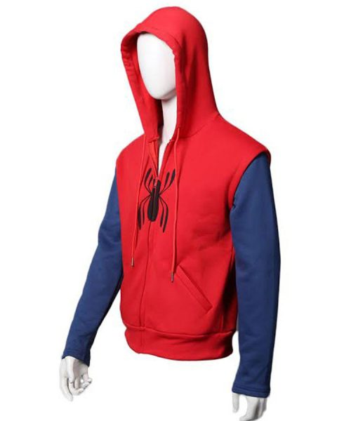 peter-parker-red-and-blue-hoodie