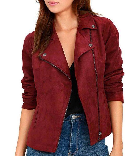 thea-queen-red-suede-jacket