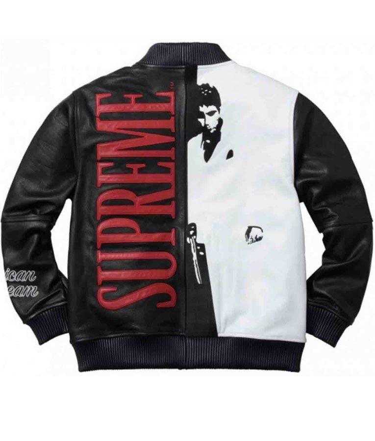 Al Pacino Tony Montana Scarface Leather Jacket Jackets Expert