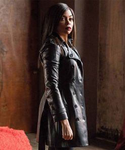 proud-mary-taraji-p-henson-leather-coat