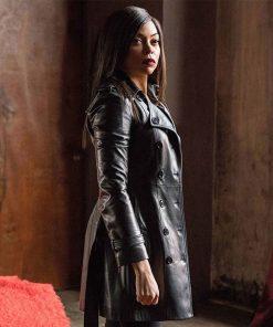 proud-mary-taraji-p-henson-leather-coat
