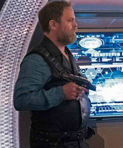 rainn-wilson-star-trek-discovery-leather-vest