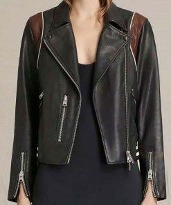 cobie-smulders-stumptown-leather-jacket
