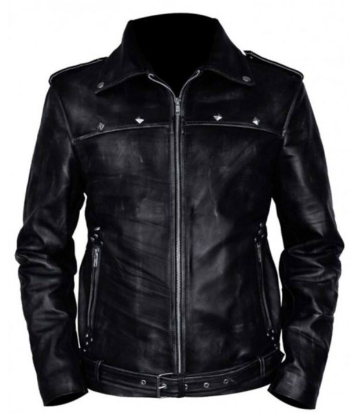 aaron-paul-a-long-way-down-leather-jacket