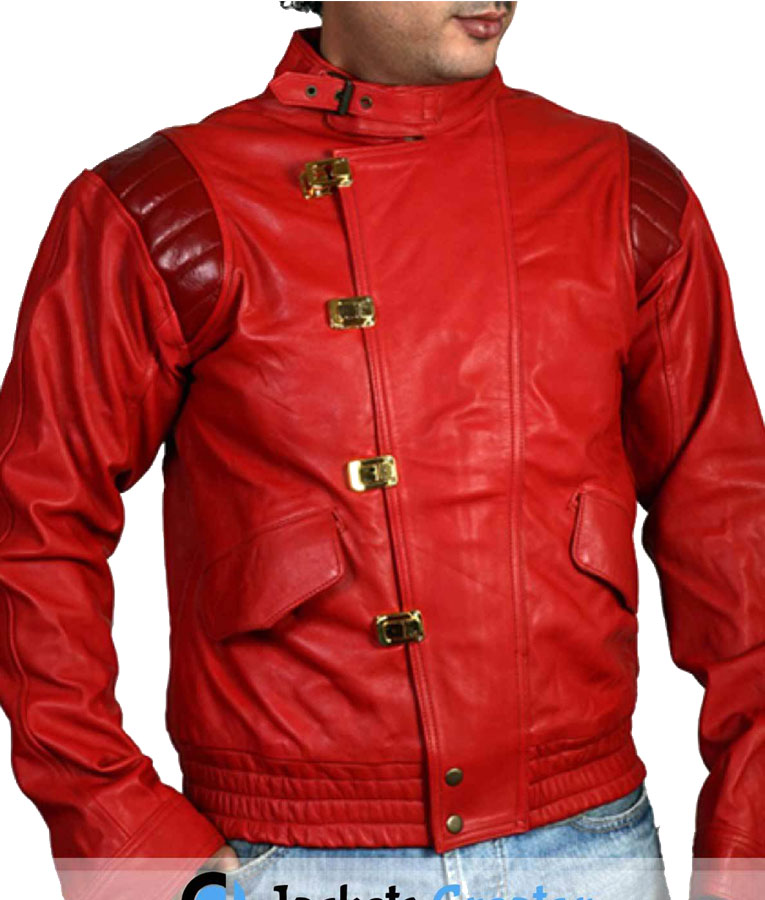 Kaneda Akira Jacket With Good For Health Bad For Education Patch Jackets Expert