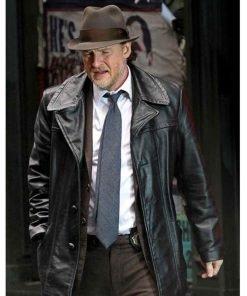 gotham-donal-logue-leather-jacket