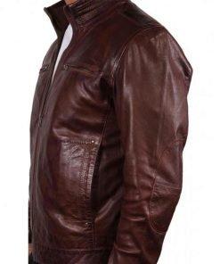 human-target-leather-jacket