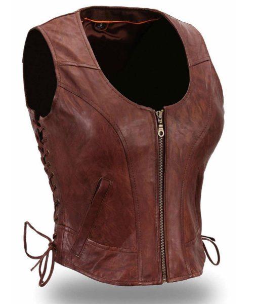 michonne-leather-vest