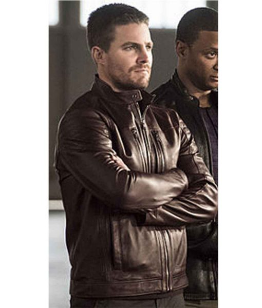 stephen-amell-leather-jacket