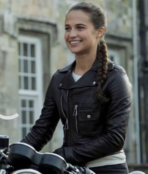 tomb-raider-alicia-vikander-leather-jacket