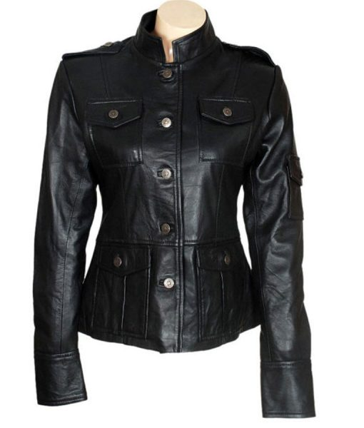 anne-hathaway-get-smart-black-leather-jacket