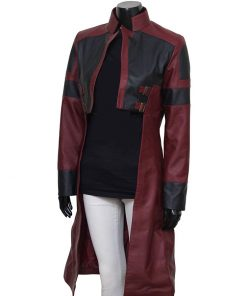 avengers-infinity-war-zoe-saldana-leather-coat