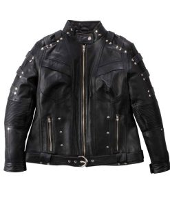 black-canary-leather-jacket