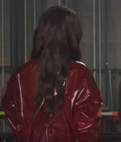 feel-the-beat-sofia-carson-maroon-jacket