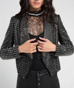 kyle-richards-studded-leather-jacket