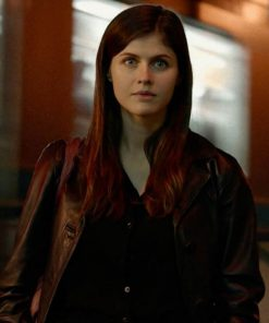 alexandra-daddario-lost-girls-and-love-hotels-leather-coat