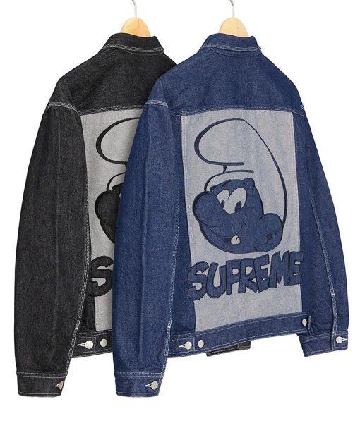supreme-smurfs-black-and-blue-jacket