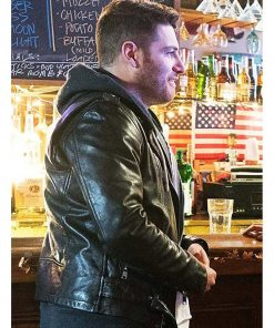 adam-pally-most-likely-to-murder-leather-jacket