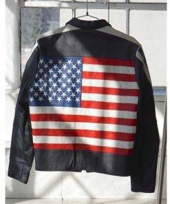 american-flag-selena-gomez-leather-jacket