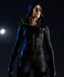 arrow-katherine-mcnamara-green-arrow-leather-jacket
