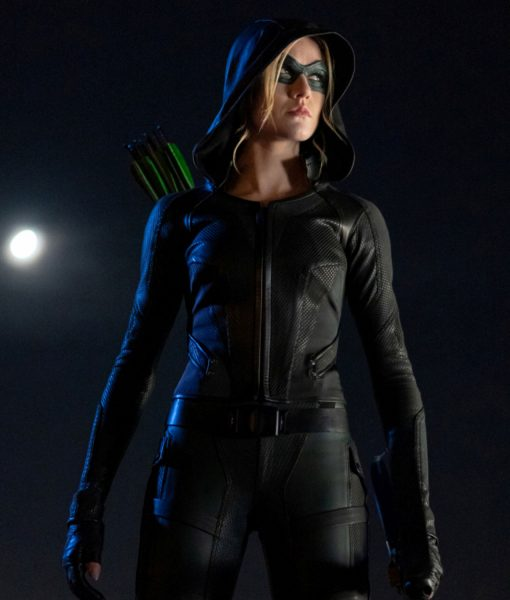 arrow-katherine-mcnamara-green-arrow-leather-jacket
