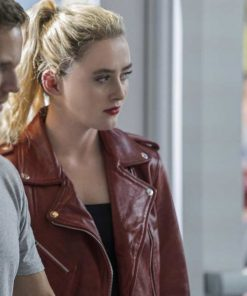 freaky-kathryn-newton-red-leather-jacket