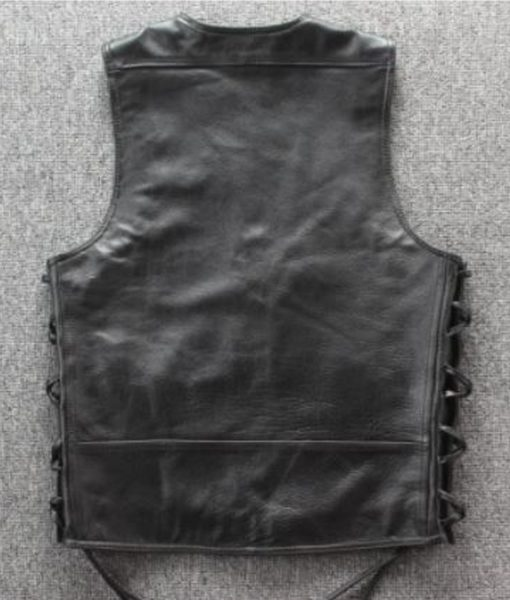 mens-chain-leather-vest
