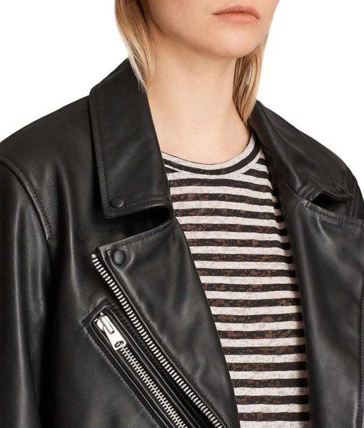 emily-in-paris-camille-razat-leather-jacket