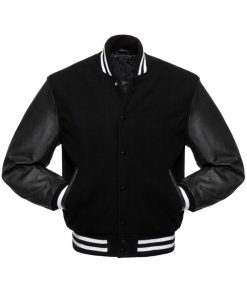 black-varsity-jacket