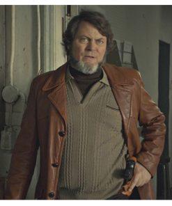fargo-nick-offerman-leather-coat