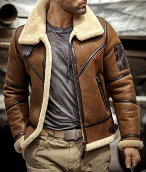 flight-aviator-brown-jacket