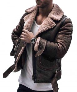 mens-belted-shearling-jacket
