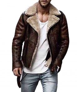mens-belted-shearling-leather-jacket