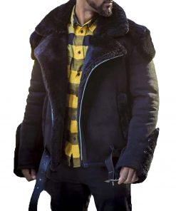 mens-belted-suede-shearling-jacket