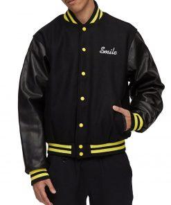 smiley-face-varsity-jacket