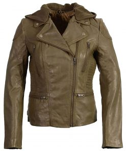 womens-olive-motorcycle-leather-jacket