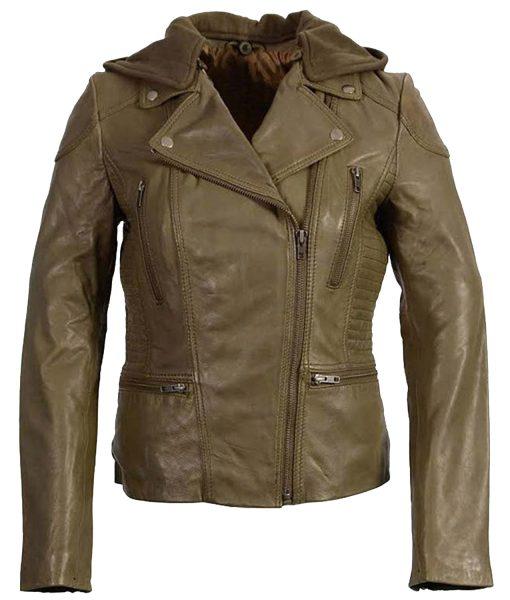 womens-olive-motorcycle-leather-jacket