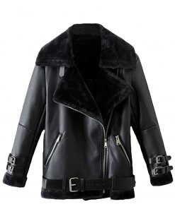 mens-black-shearling-leather-jacket