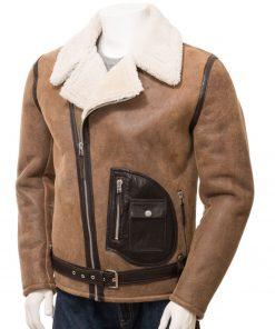 mens-shearling-biker-leather-jacket