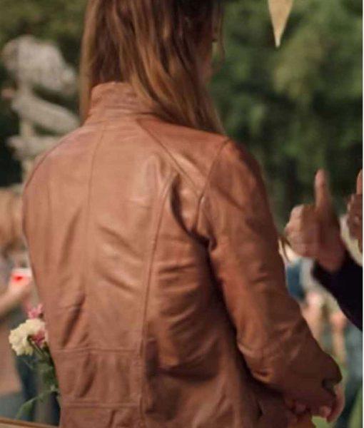 virgin-river-alexandra-breckenridge-brown-leather-jacket