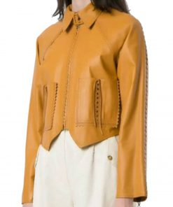 women-yellow-pointed-jacket