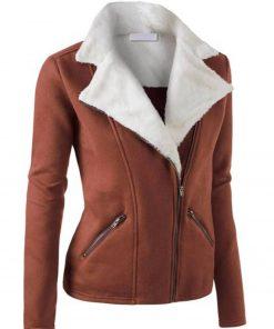womens-zip-up-shearling-jacket
