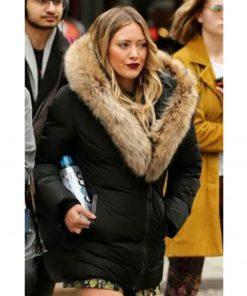 younger-hilary-duff-black-coat