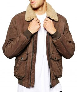 mens-bomber-sherpa-collar-leather-jacket