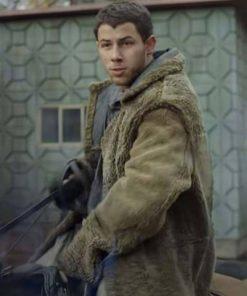 nick-jonas-chaos-walking-sherpa-coat